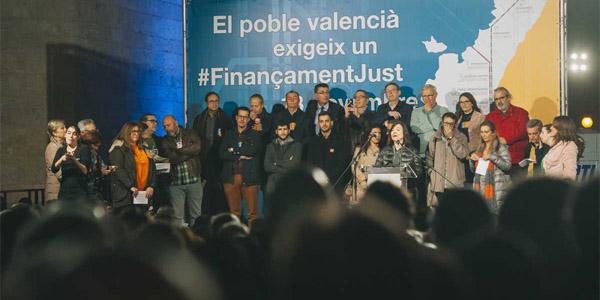 """Màxim Rueda ha advertit hui del """"silenciament"""" que ha sofrit la Plataforma pel Finançament Just després del canvi en l'Eixecutiu Nacional"""