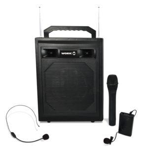Amplificador portàtil a bateria