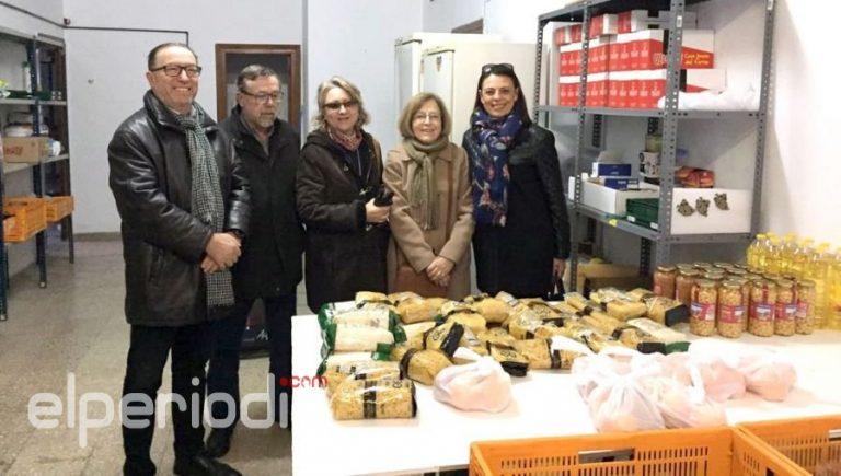 POBLE colabora con Cáritas de Catarroja recogiendo alimentos para los más necesitados