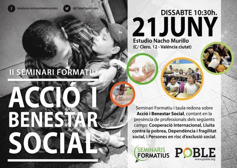 II Seminari Formatiu – Acció i Benestar Social