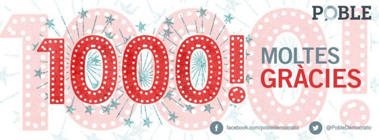 1000 amigos y amigas en Facebook