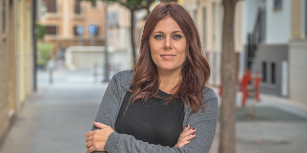 Elena Vera (Poble Ilicità) presenta la seua candidatura per a convertir-se en alcaldesa d'Elig