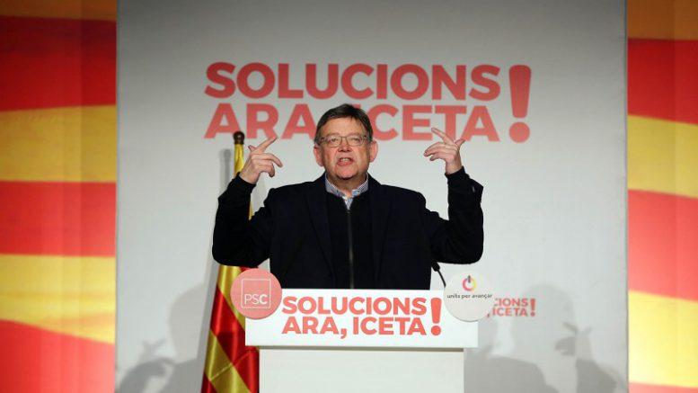 El discurso Olvidado de Ximo Puig