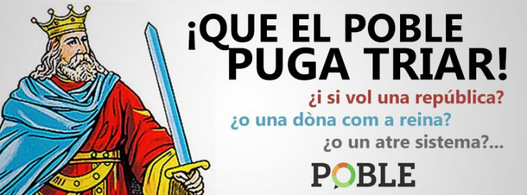 """POBLE no participará en la manifestación por la """"Republica"""""""