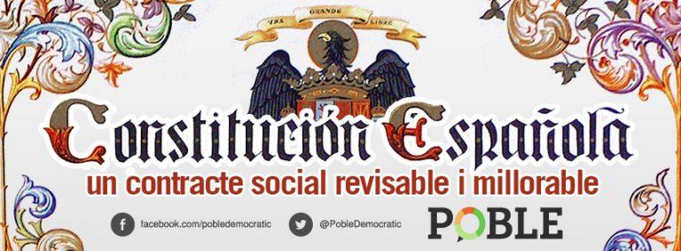 La Constitución: un contrato social revisable y mejorable