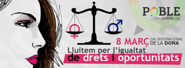 Volem igualtat entre hòmens i dones