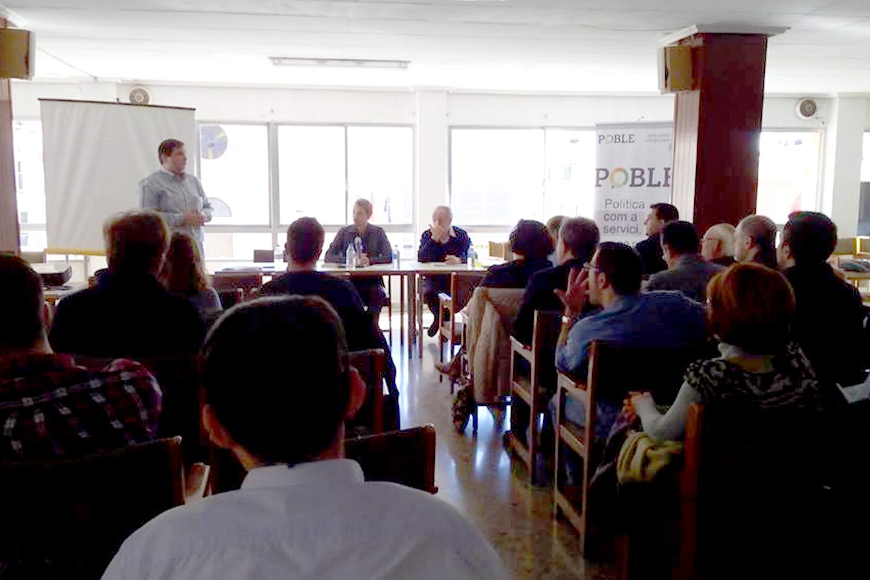 POBLE celebra un seminari formatiu sobre economia en Sedaví